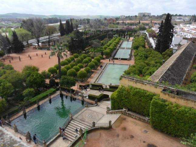 The Gardens at the Alcazar Cordoba